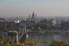 布达佩斯看法,年2008年 免版税库存照片