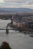 布达佩斯看法,年2008年 库存照片