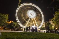 布达佩斯眼睛夜 免版税图库摄影