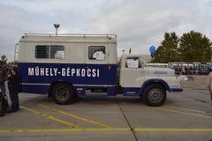 布达佩斯第二十一区D450中间性责任的车 免版税库存照片