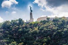 布达佩斯自由雕象 库存图片