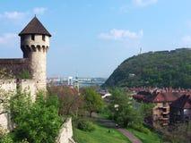 布达佩斯视图 库存图片