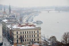 布达佩斯视图  免版税库存照片
