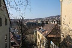 布达佩斯视图 免版税图库摄影