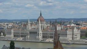 布达佩斯议会大厦 影视素材