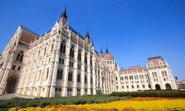 布达佩斯议会大厦 免版税图库摄影