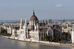 布达佩斯议会,匈牙利 免版税图库摄影