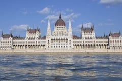 布达佩斯议会,匈牙利 免版税库存图片