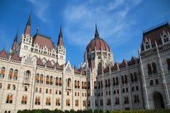 布达佩斯议会-世界` s第三大议会大厦,匈牙利 免版税库存照片