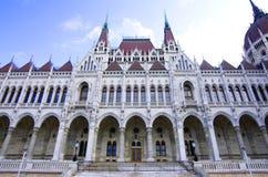 布达佩斯议会 库存照片