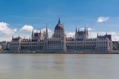 布达佩斯议会 免版税图库摄影