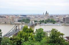 布达佩斯都市风景 免版税库存图片
