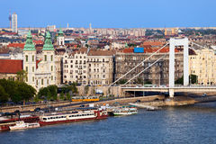 布达佩斯都市风景 免版税库存照片