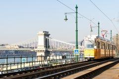 布达佩斯,匈牙利白天风景  库存图片
