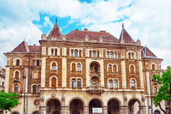 布达佩斯,匈牙利, - 2016年5月02日:Dreschler宫殿华美的bui 免版税库存图片