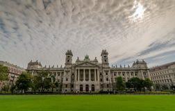 布达佩斯,匈牙利-在一阴天 库存图片