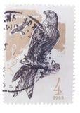 布达佩斯,匈牙利- 2016年2月02日:在苏联展示打印的邮票 免版税库存照片