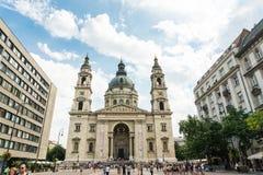 布达佩斯,匈牙利- 2016年8月15日 库存图片