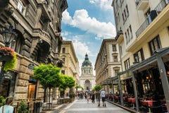 布达佩斯,匈牙利- 2016年8月15日 免版税库存照片