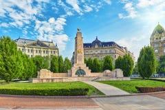 布达佩斯,匈牙利- 5月04,2016 :在自由的苏联纪念碑 免版税图库摄影