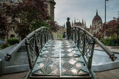 布达佩斯,匈牙利- AVRIL 15日2016年:头等Minist的纪念碑 免版税图库摄影