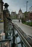 布达佩斯,匈牙利- AVRIL 15日2016年:头等Minist的纪念碑 免版税库存照片