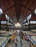 布达佩斯,巨大市场霍尔 免版税库存照片