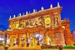 布达佩斯, HUNGARY-MAY 05,2016 :匈牙利状态歌剧院是a 免版税图库摄影
