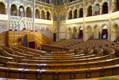布达佩斯(匈牙利)的议会 图库摄影