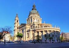 布达佩斯-圣斯蒂芬大教堂 免版税库存照片