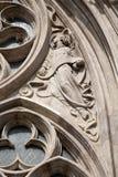 布达佩斯-天使详细资料- st.马修教会 库存图片