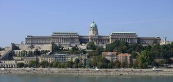 布达佩斯Buda宫殿 库存照片