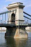 布达佩斯chainbridge 免版税库存照片