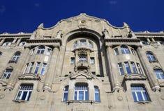 布达佩斯Gresham宫殿 免版税库存照片