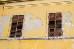 布达佩斯Od房子在匈牙利 免版税库存图片
