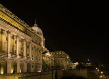 布达城堡(王宫),布达佩斯,匈牙利 免版税库存图片