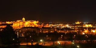 布达城堡 免版税图库摄影