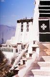 布达拉宫西藏 库存照片