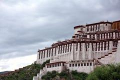 布达拉宫 库存图片