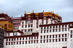 布达拉宫 免版税库存图片