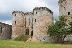 布里坦尼城堡中世纪的法国 库存照片