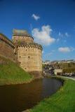 布里坦尼城堡foug法国res 库存图片