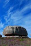 布里坦尼岩石s 免版税库存图片