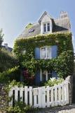 布里坦尼法语房子 库存图片