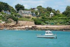 布里坦尼海岛 免版税库存照片