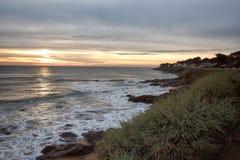 布里坦尼海岸在法国 免版税库存图片