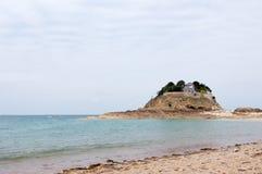 布里坦尼du fort法国guesclin 免版税库存图片
