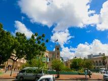 布里季敦,巴巴多斯- 2016年5月11日:议会在布里季敦,巴巴多斯 库存照片