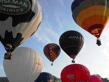 布里斯托尔国际气球节日 库存图片