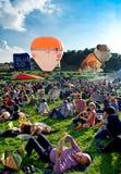 布里斯托尔国际气球节日2012年 免版税库存照片